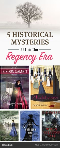 5 historical mysteries set in the Regency period.