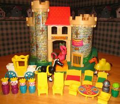 Fisher price castle. I loved that dragon