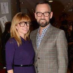 Sonya Lennon & Brendan Courtney in Optica Eyewear