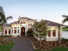 Exciting Mediterranean Design - 33562EB | Florida, Mediterranean, Exclusive, Luxury, Photo Gallery, Premium Collection, 1st Floor Master Suite, CAD Available, Den-Office-Library-Study, MBR Sitting Area, PDF, Split Bedrooms | Architectural Designs