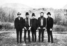 The Band in the Catskills.