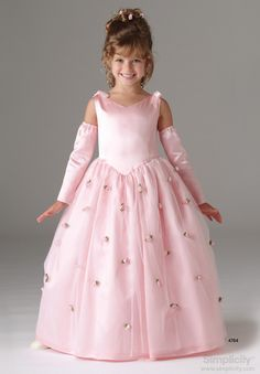 S2463 Child's Special Occasion Dress | Sewing patterns, Occasion ...