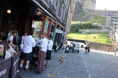 - and for men i kilt :) - Edinburgh during the festival