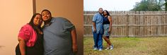 Have you seen the story about the couple who decided to lose weight ? Willie and Angela exercised and modified their diets and lost a combined weight of 500 pounds! No surgery - no gimmicks - just hard work and dedication. Check out Angela's blog : http://webeatfat.com for more on this inspiring story.