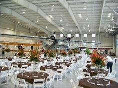 Military Aviation Museum, Virginia Beach. Wow. I would love to attend a banquet here!