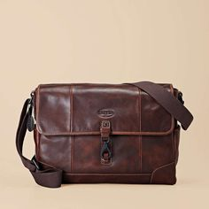 Fossil Alpine Messenger ($258): The functional, all-leather Alpine Messenger has it all - a vintage-inspired design, a padded laptop compartment, and enough interior pockets to keep all of your daily must-haves organized