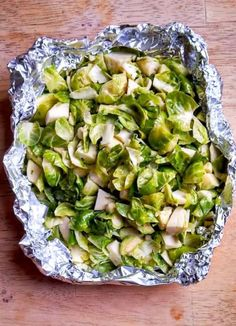 How to Grill Brussels Sprouts is a photo tutorial on how to grill my favorite vegetables-- healthy, quick, delicious, and simple!