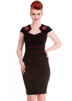 Hell Bunny Viktoria Dress | Attitude Clothing