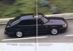 自動車CM大全 - サーブ・900のカタログ(1987年・英語版)