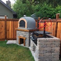 2017 07 22 000061 Outdoor Bbq Kitchen, Outdoor Cooking Area, Pizza Oven Outdoor, Backyard Kitchen, Backyard Patio, Outdoor Entertaining, Outdoor Smoker, Backyard Smokers, Outdoor Grill Station