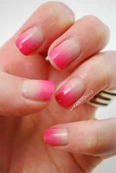Pink-Ombre-Nail-Design-for-Short-Nails Best Ombre Nail Designs for 2019 – Ombr. - Weihnachts Entwürfe - - Pink-Ombre-Nail-Design-for-Short-Nails Best Ombre Nail Designs for 2019 Ombr Gradient Nail Design, Purple Nail Designs, Gradient Nails, Nail Art Designs, Cute Nail Art, Cute Nails, Jolie Nail Art, Pink Ombre Nails, Short Gel Nails