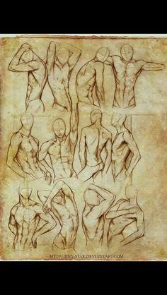 Male drawing tutorials