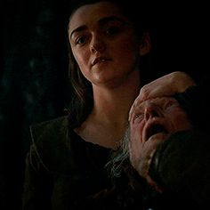 My name is Arya Stark. I want you to know that. The last thing you're ever going to see is a Stark smiling down at you as you die.