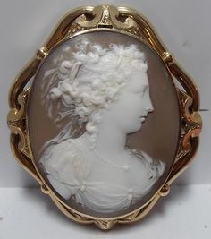 STUNNINGLY-CARVED-VICTORIAN-SHELL-CAMEO-in-9CT-GOLD-MOUNT-FITTED-CASE