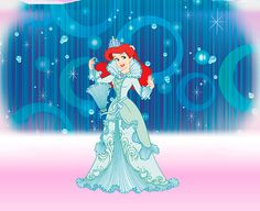 ariel2wall by ArsenalGrace, via Flickr disney princess ariel Tiana And Naveen, Disney Princess Tiana, Disney Princess Fashion, Disney Fashion, Disney Princesses, Disney Dream, Disney Love, Disney Magic, Disney Art