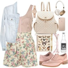 My kind of light pink style