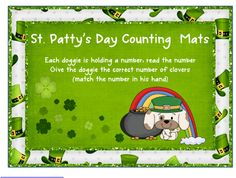 St. Patrick's Day Counting Freebie