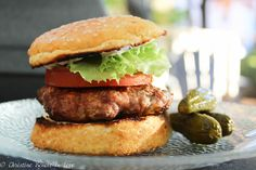 Who doesn't love a yummy burger? Not summer? Who cares, you can make these on your indoor grill easily or by using the broiler function in your oven. I remember being pregnant with my 2nd c…