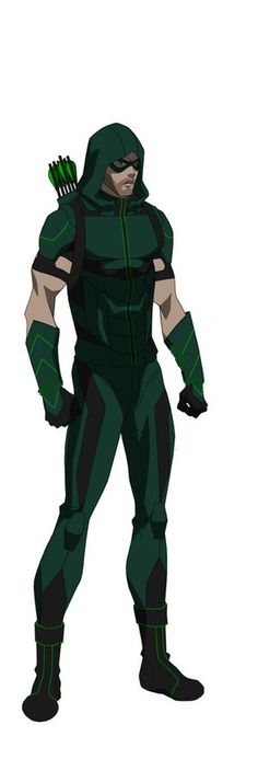 The CW Seed version of Arrow from the Vixen series.
