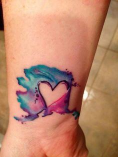 Water color tattoos