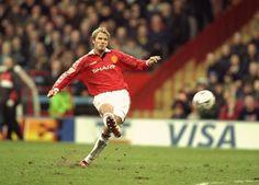 David Beckham's shooting
