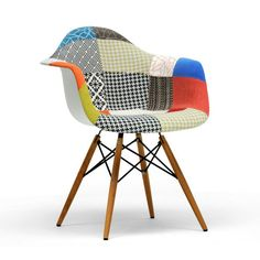 Sanna Patchwork Chair | dotandbo.com