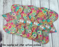 Floral Cloth Sanitary Pad Liberty Tana Lawn by Deergirlboutique Menstrual Pads, Essential Oil Scents, Cloth Pads, Egyptian Cotton, Vinyl Designs, Kids Wear, Fabric Design, Lawn, Liberty