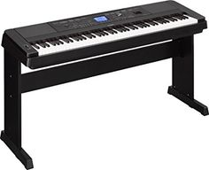 Yamaha Weighted Digital Piano With Furniture Stand Best Digital Piano, Digital Piano Keyboard, Yamaha Digital Piano, 88 Key Keyboard, Piano Parts, Casio Digital, Electric Piano, The Pretenders, Bucket Lists