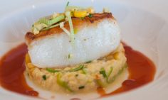 Sea Bass,Egg,Thai Sauce  Chef Arnaud Lallement  Remy Champagne Brunch