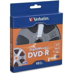 Introducing Verbatim 97946 DVD minus R  DVDR 47GB 8X 10PK Box. Great product and follow us for more updates!