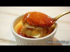 The best Custard pudding Recipes|Coris cooking Flan, Homemade Desserts, Delicious Desserts, How To Make Custard, Custard Pudding, Fondue, Cupcakes, Party Desserts, Pudding Recipes