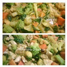 Pullantuoksuinen koti: Helppoa ruokaa 'Delhi style' - Kasviscurry tai Kasvis-kanacurry