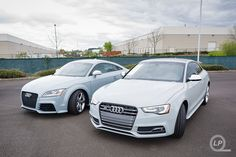Audi Exclusives: Aviator Gray Audi TT RS and Sport Classic Gray Audi S5