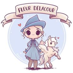 ✨ Fleur Delacour ✨ Who's your favourite out of the four champions from the books? (Or movies?) I've just got Harry left to draw then imma draw some dragons :3 • #fleur #fleurdelacour #triwizardtournament #beauxbatons #hogwarts #harrypotter #flyinghorse #pegasus #harrypotterart #cute #kawaii #chibi #instaart #instadaily #instaartist #illustration #illustrationoftheday #digitalpainting #digitalart