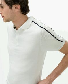 Polo Rugby Shirt, Polo T Shirts, Camisa Polo, Mens Golf Wear, Polo Shirt Outfits, Polo Shirt Design, Golf Outfit, Facon, Mens Tees
