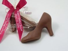Cute favor for a high heel birthday party theme...need a high heel chocolate mold