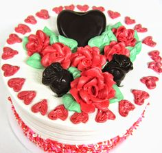Made with love by Mueller's Bakery for Valentine's Day or any day!