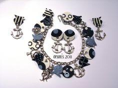 fewer dangles.....................orson's navy bracelet & earrings by Orson's World, via Flickr