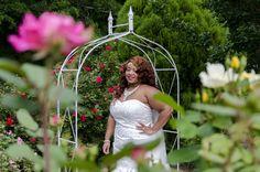 Erica in the Flower Garden