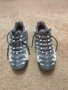 competitive price a70ee 65ca5 (eBay link) NIKE AIR MAX PLUS TN SE   BEFORE THE BITE   GREY WHITE Size 11  US  fashion  clothing  shoes  accessories  mensshoes  athleticshoes