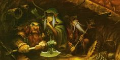 Bavoth Hadhaghor risks the lifes of himself and the friends the elf Aloki Innanir and the goblin Falfyyr Novvos in a daemon stronghold that they had heard was abandoned.