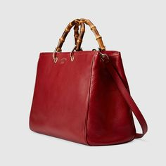 Gucci Women - Bamboo Shopper leather tote - 323658A7M0G6227