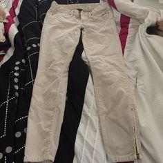 J.crew corduroy pants Beige colored corduroy toothpick pants J. Crew Pants