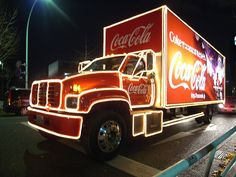 I will drive this Coca-Cola truck