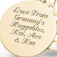 14K Gold 5 Birthstone Family Necklace at Things Remembered