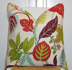 BOTH SIDES  Decorative Pillow Cover  20x20  by TurquoiseTumbleweed, $48.00