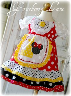 Gooseberry Lane Originals Miss Minnie Peasant by GooseberryLane,