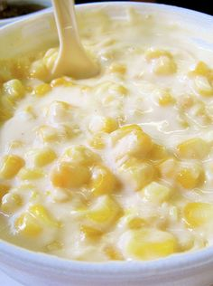 Homemade Cream Corn is the MOST REQUESTED side dish of family dinners!  It's heavenly, fattening, and even more heavenly.  You WILL want seconds!