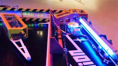 Galactic Dimension is a supersized pinball machine which I've built for the Phæno science center in Wolfsburg. The pinball has a gigantic playfield of 3x6 me...
