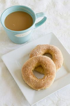 Baked Doughnuts with Cinnamon-Sugar